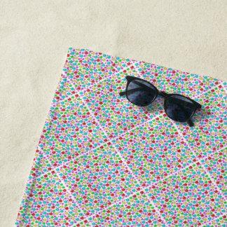 Strand, Tuch, Schablone, Handwerk, Feiertag, Strandtuch