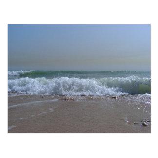 Strand- und Ozeanandenken Postkarte