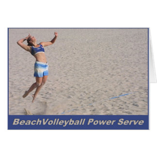 Strand-Volleyball-PowerServe Karte