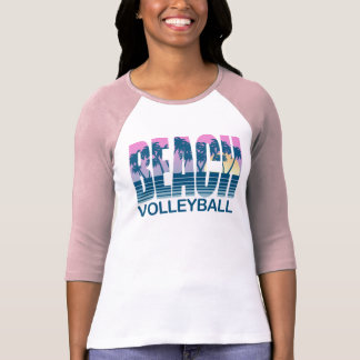Strand-Volleyball T-Shirt