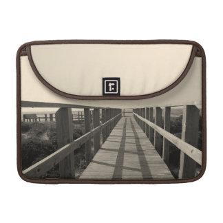 Strand-Weg im Sepia Sleeve Für MacBook Pro