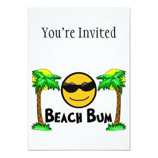 Strand-wertlos Sonnenschein-u. Palmen Einladungskarten