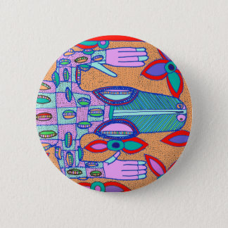 Strand wertlosCroc Runder Button 5,7 Cm