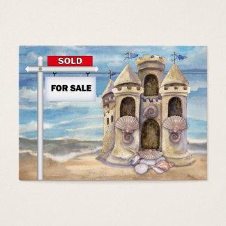 Strand-wirkliche Anwesen-Geschäfts-Karte - SRF Visitenkarte