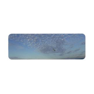 Strand-Wolken