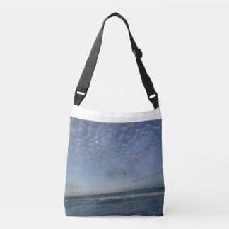 Strand-Wolken Tragetaschen Mit Langen Trägern