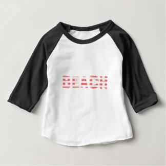Strand-Zeichen - Streifen Baby T-shirt