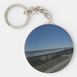 Strand-Zeit Schlüsselanhänger