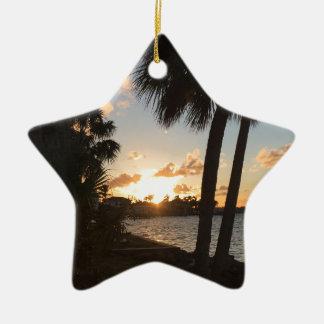 Strand-Zuhause Keramik Ornament