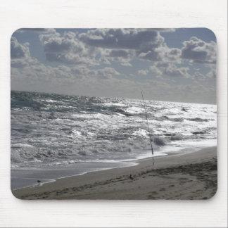 Strandfischerei und -träume mousepad