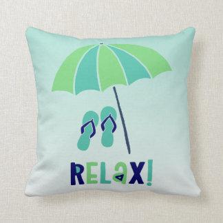 Strandschirm entspannen sich sein gutes für Ihre Kissen