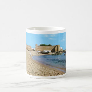 Strandsechziger jahre Tunesiens Hammamet Kaffeetasse