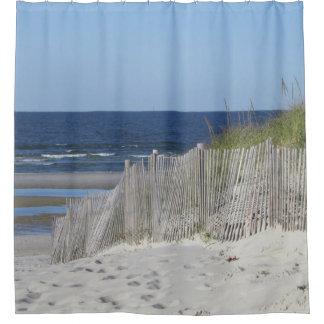 Strandszene Duschvorhang
