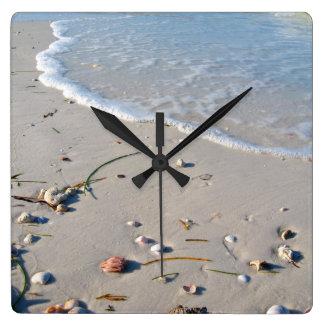 Stranduhr, das Sie inspirieren Quadratische Wanduhr
