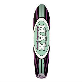 StrandWärmer Longboard MAX 19,1 Cm Old School Skateboard Deck