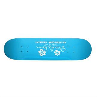 "StrandWärmer Skateboard ""ride the wall"" blue"