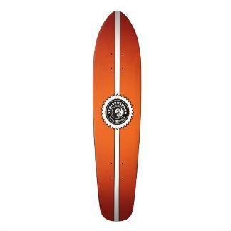"""StrandWärmer Skateboards """"Longboard Fire"""" Individuelle Skateboarddecks"""