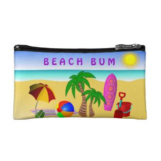 Strandwertlossun-Seebrandungs-kleine kosmetische Makeup-Tasche