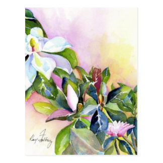Strang der Blumen Postkarte