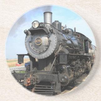 Strasburg Eisenbahn-Dampf-Motor Getränkeuntersetzer