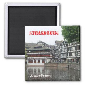 Strassbourg Kühlschrankmagnet
