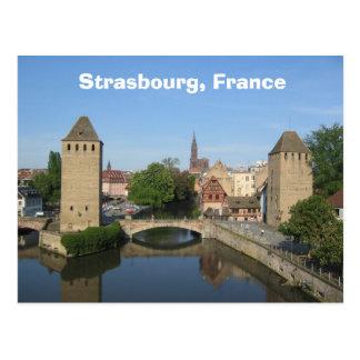 Straßburg, Frankreich Postkarte