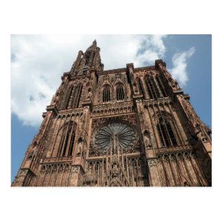 Strassburg Kathedrale Postkarte