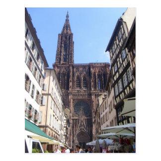 Straßburg - postkarte