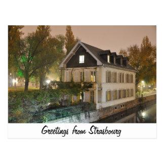 Straßburg-Postkarte Postkarte