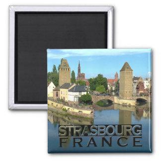 Straßburg Quadratischer Magnet