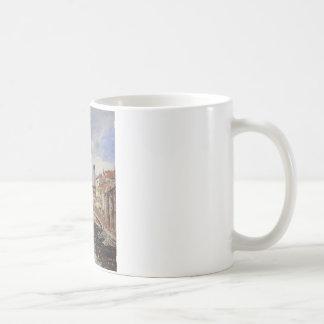 Straße, Antibes durch Eugene Boudin Kaffeetasse
