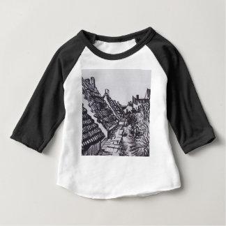 Straße in Saintes-Maries durch Vincent van Gogh Baby T-shirt