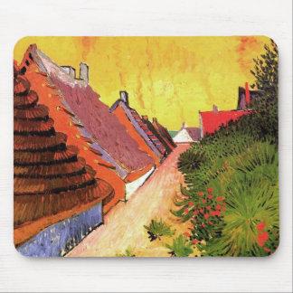 Straße in Saintes-Maries durch Vincent van Gogh Mousepads