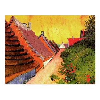 Straße in Saintes-Maries durch Vincent van Gogh Postkarte