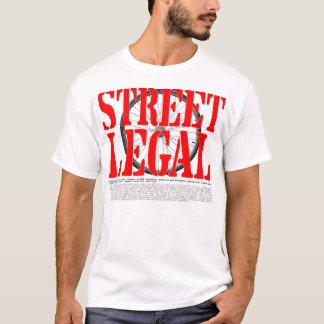 Straße legales Massachusetts T-Shirt