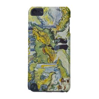 Straße und Straße in Auvers durch Vincent van Gogh