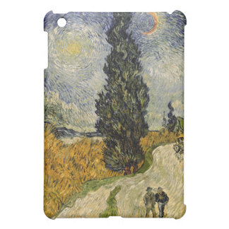 Straße Vincent van Goghs   mit Zypressen, 1890 iPad Mini Hülle