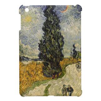 Straße Vincent van Goghs | mit Zypressen, 1890 iPad Mini Hülle