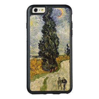 Straße Vincent van Goghs | mit Zypressen, 1890 OtterBox iPhone 6/6s Plus Hülle