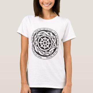 Straße zu Wahrheit Dharma Rad T-Shirt