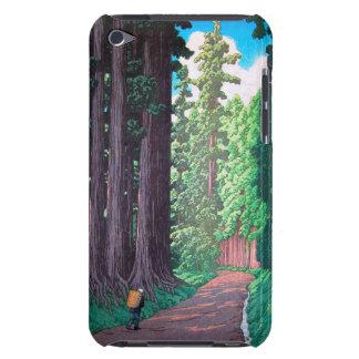 Straße zu Waldschienbein hanga Szene Nikko Hasu Ka iPod Case-Mate Case