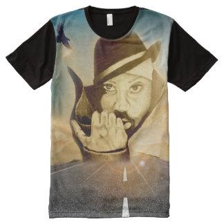 Straße zum Erfolg T-Shirt Mit Bedruckbarer Vorderseite
