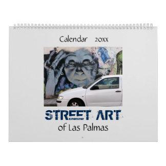 Straßen-Kunst des Las Palmas 20XX Kalender