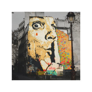 Straßen-Kunstgraffiti-Leinwand-Kunst Leinwanddruck