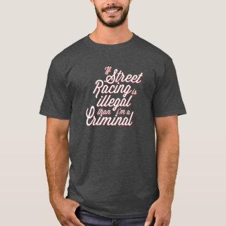 Straßen-Laufen T-Shirt