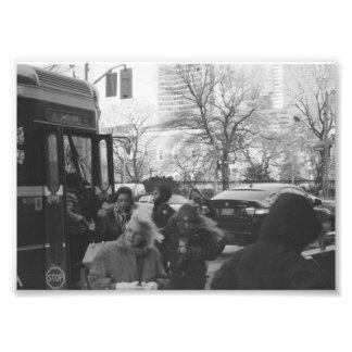 Straßen-Leben 4 Fotodruck