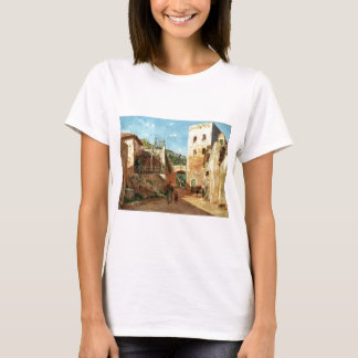 Straßen-Szene nahe Antibes durch Ernst Meissonier T-Shirt