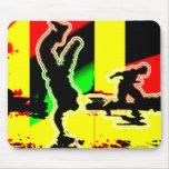 Straßen-Tanz-angesagtes Hopfen Mauspads