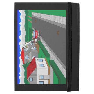 Straßen und Hausbau