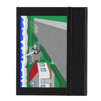 Straßen und Hausbau Etui Fürs iPad